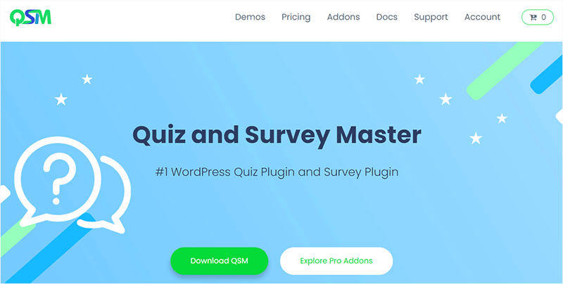 Quiz and Survey Master Plugin