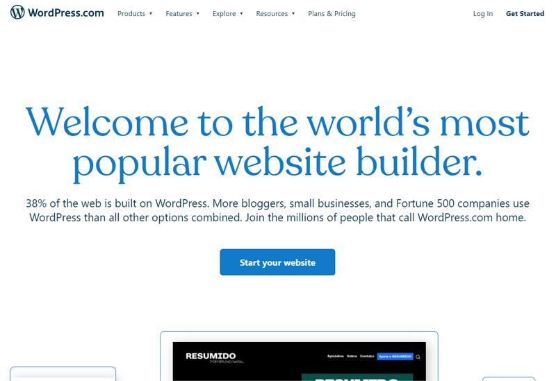 WordPress.Com Site Design