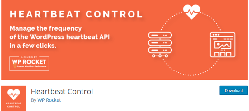 Heartbeat Control by WP Rocket Plugin