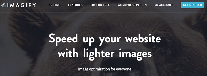 Imagify Image Optimization WordPress Plugin