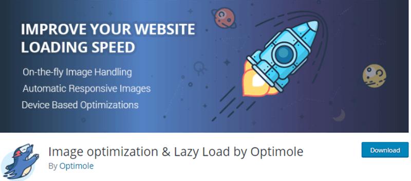 Image Optimization & Lazy Load by Optimole Plugin