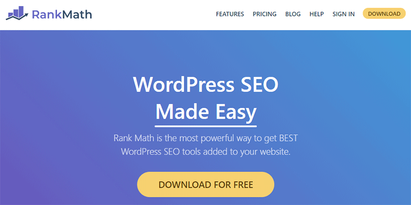 Rank Math WordPress SEO Plugin and Tool