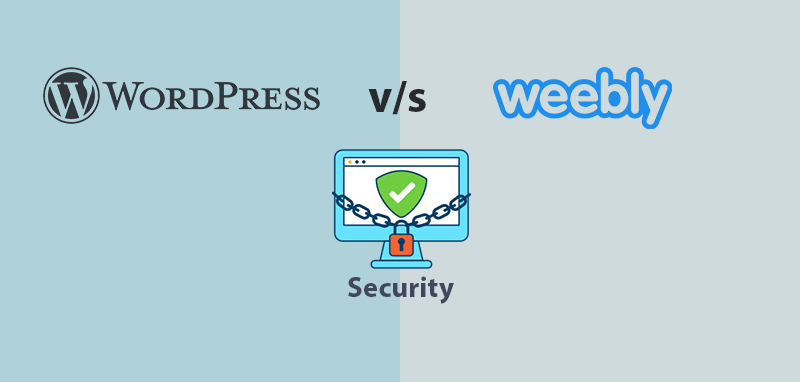 WordPress vs Weebly Security