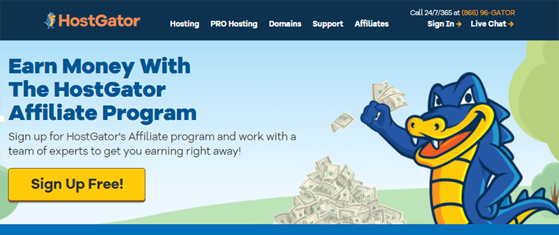 HostGator Affiliate Program