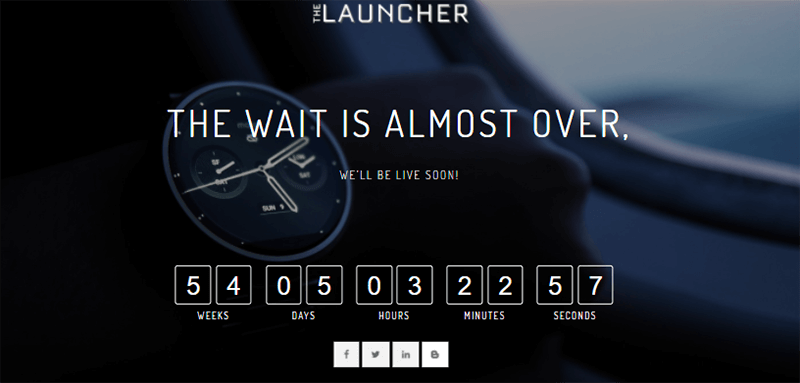 Demo Site of The Launcher Theme