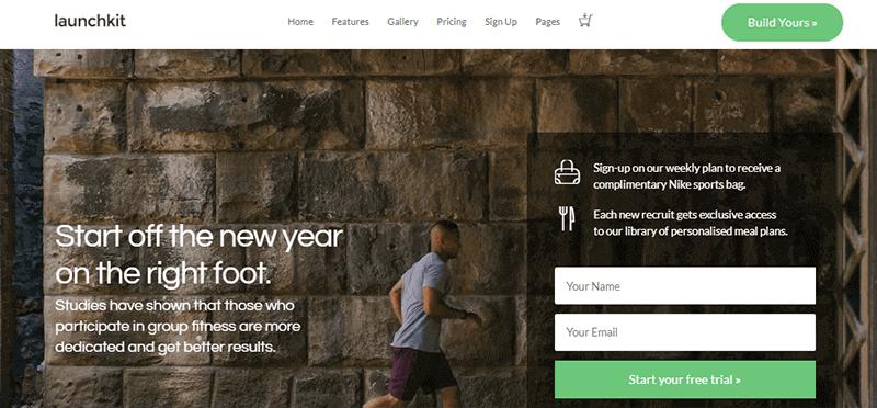 Demo Site of Launchkit Theme