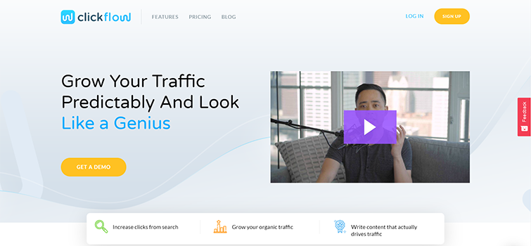 ClickFlow Tool Home Page