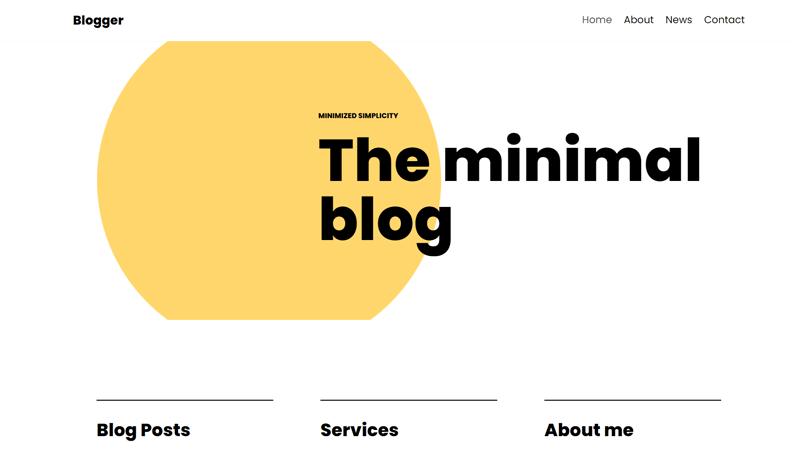 Neve Blog Theme