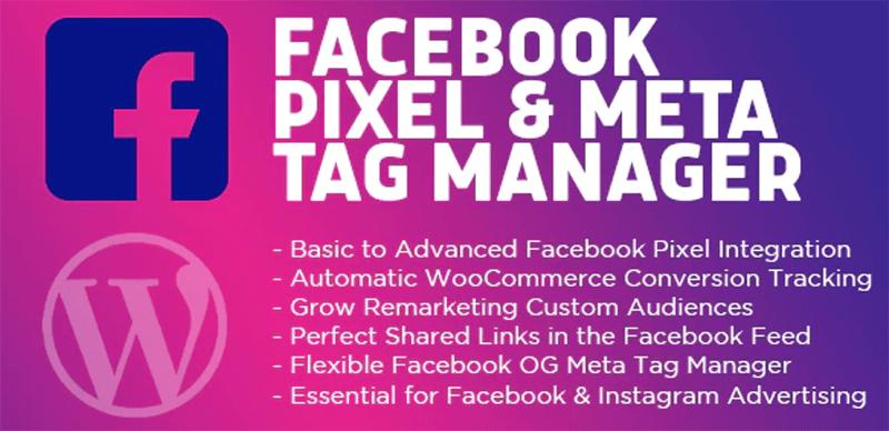 Facebook Pixel & Meta Tag Manager for WordPress