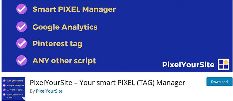 PixelYourSite - Facebook Pixel WordPress Plugin