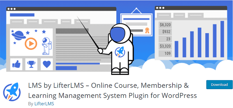 LifterLMS WordPress course builder Plugin