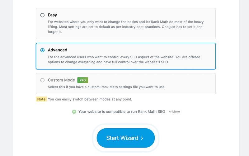 Selecting User Mode