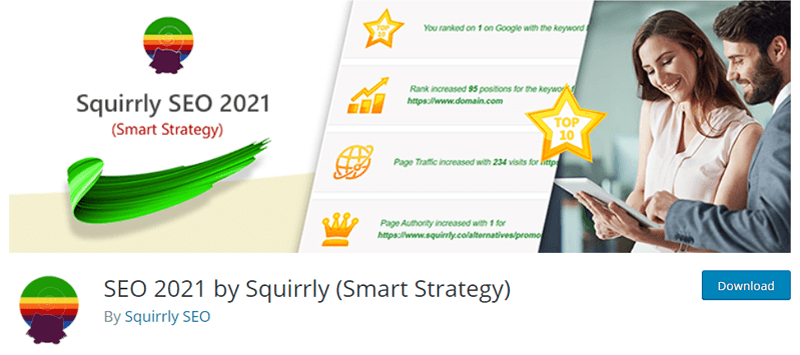 SEO 2021 By Squirrly Plugin